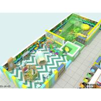 Forest Theme Indoor Residential Playground With Interactive Games And Sand Ball