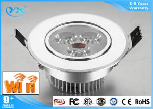 China Integrative Brightness Dimmable Remote Controlled Light Fixture Colour Changing Led Downlights 3000K - 6000K on sale