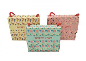 China Personalized Luxury Christmas Packaging , Large Christmas Present Bags on sale