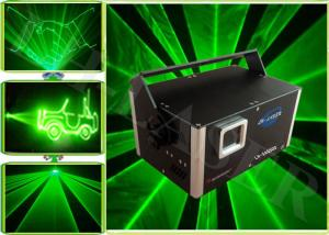 China 500MW Green Animation Laser , Advertising Laser Show  Beam For Ktv on sale
