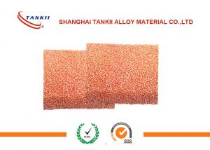 China 80 PPI 2*500*500mm Copper Matel Foam for filter , Purity 99.99% on sale