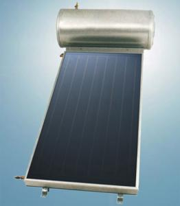 China Compact / Integrate Solar Panel Water Heater For Home , Aluminum Alloy on sale