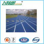 Épaisseur courante sportive de GV EPDM 2mm de peinture de plancher de polyuréthane de plancher de voie