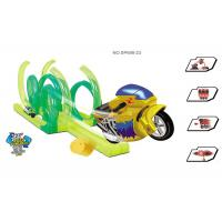 "42 "" Inertia Motorcycle Kids Race Track Set High Level 360° Rotation 36 Pcs"