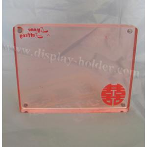 China Magnet acrylic photo frame in several sizes on sale