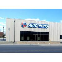 Galvanization Commercial Steel Frame Buildings For Aftermarket Auto Parts Retail