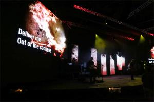 China P3 P4 P5 P6 LED Video Screens , SMD2020  3 in 1 Concert LED Display on sale