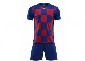 China 100% polyester uniformes de futbol cheap sublimated adult soccer jersey custom football jersey on sale