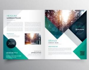 China Printable Corporate Business Brochure Creative Company Introduction Brochure on sale
