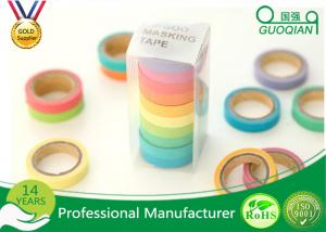 China Arts / Gift Crafts Wrapping Japanese Washi Paper Tape Girls Favorite Color on sale