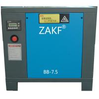 High Quality 380 Voltage Screw Air Compressor With Air Cooling For Industrial Use , 5.5KW / 7.5HP , 50HZ