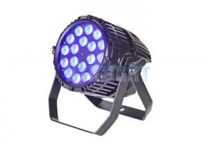China AC100-240V 18x10W RGBW 4 In 1 Concert Stage Lights 25 Degree Beam Angle on sale