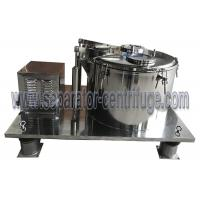 Top Discharge Vertical Basket Centrifuge For Cannabis And Alcohol Extraction
