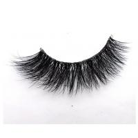 Fashion wholesale 3D Mink Eyelashes with invisible band  RY3DM-02C