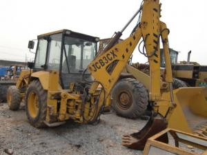 China Used caterpillar JCB-3CX front end loader heavy machinery backhoe on sale