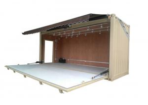 China Topshaw Wholesale Prefabricated Mobile Container Bar Used Shipping Container Bar for sale on sale