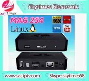 AURA HD Plus IPTV WiFi Online Media Streaming Player Mag 254