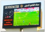China Mutil Color 8500 CD Brightness Stadium LED Screens , Commercial Panel Display Systems wholesale