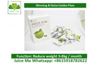 China Natural Weight Loss Dried Plum , Easy Slim Detox Plum For Colon Detox OEM on sale