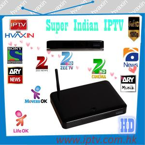 Quality Super indian channels iptv set top box for sale