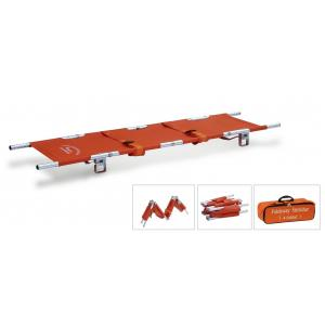 China High-strength aluminum alloy Foldable Stretchers for hospitals, sports ,ambulance on sale