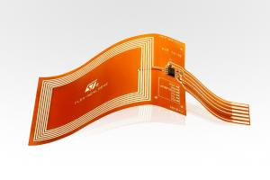 China Flexible PCB Circuit Design Polyimide Material With 2  layers  Finished Copper 1OZ Polybag packing on sale