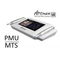 Digital permanent make up machine Artmex V8 derma pen with 2 pcs metal intelligent hand piece