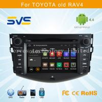 China Android 4.4 car dvd player GPS navigation for Toyota RAV4 2006-2012 car video audio radio on sale