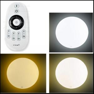 14W Intelligent dimming remote control surface mounted LED Ceiling
