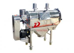 China Centrifugal Vibro Sifter Machine Wheat Flour Airflow Stainless Steel on sale