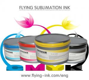 China Sublimation transfer printing ink for fabric (FLYING FO-GR Sublimation ink) on sale