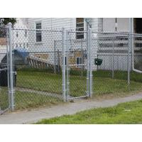 china lowest price heavy galvanized chain link fencing with USA standard
