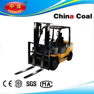 China FD30 maintenance free battery,pneumatic tyre,3ton diesel forklift on sale