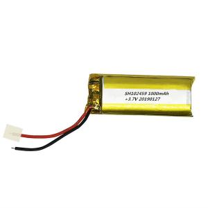 China 102459 1400mAh 3.7V Lithium Polymer Lipo Batteries High Rate Quick Charge Discharge on sale