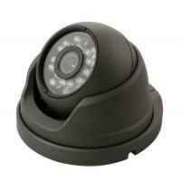 Grey IR Vandalproof Dome Camera With SONY / CMOS Color CCD 600TVL - 1000TVL