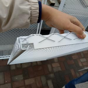 China PVC coated aluminum expanded metal mesh / anodized aluminum expanded mesh on sale