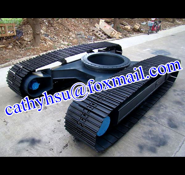 steel track undercarriage crawler undercarriage steel track chassis