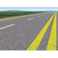 Thermoplastic Road Markings Paint Solid Acrylic Resin Good Adhesion And Flexibility