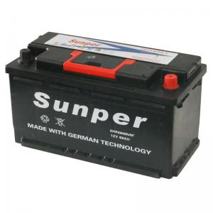 China Professional 88ah Automotive Sealed Lead Acid Battery 12v , Recharge Car Battery on sale