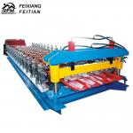 China Metal Roof Trapezoidal Sheet IBR Roll Forming Machine with decoiler wholesale