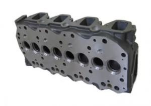 China Diesel Engine Cylinder Head Bare Cylinder Head For Frontier 3153cc Nissan QD32 on sale