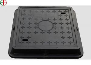 China EN124 Class D400 Ductile Cast Iron Manhole Cover With Frame , Custom Size on sale