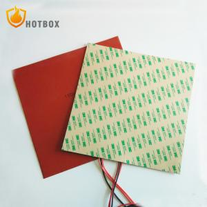 China 300mm X 300mm 400W@24V Silicone Heater 3D Printer Build Plate Heating Element HeatedBed Pad on sale