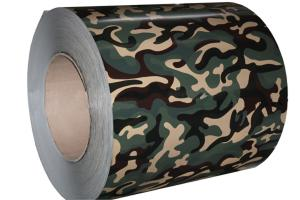 China camouflage color aluminum coil on sale