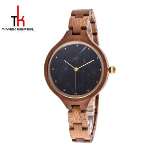 China High quality Fashion Japan Movement ladies wooden watches on sale