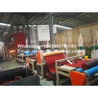 China 1220mm Red Color PVC Coil Mat Machine/PVC Car Mat Making Machine on sale