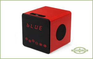 China Bluetooth Portable Wood Speaker With USB / micro-USB port / SD card slot on sale