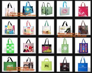 China New style shiny pp non woven bags, Custom PP Laminated Non Woven Bag Polypropylene Non-woven Fabric Carry Bag, BAGPLASTI on sale