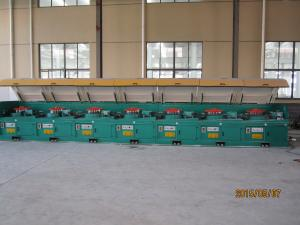 China Straight Line Stainless Steel Wire Drawing Machine Energy Saving 600m / Min on sale