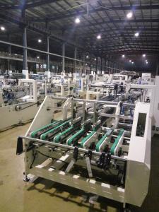 China High Speed Paper Milk Box Window Box Patching Machine on sale